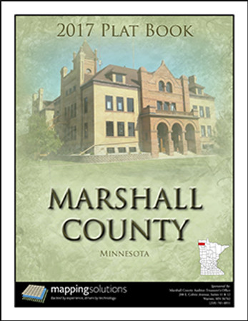 Marshall County Minnesota 2017 Plat Book