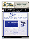 Benton County Arkansas 2016 Plat Book