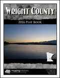 Wright County Minnesota 2016 Plat Book