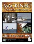 Mackinac County Michigan 2014 Plat Book