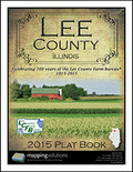 Lee County Illinois 2015 Plat Book