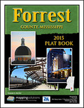 Forrest County Mississippi 2015 Plat Book
