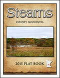 Stearns County Minnesota 2015 Plat Book