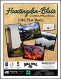 Huntingdon-Blair Counties Pennsylvania 2016 Plat Book