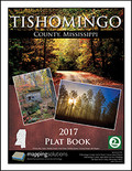 Tishomingo County Mississippi 2017 Plat Book