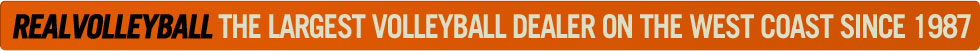 Realvolleyball the largest volleyball dealer on the west coast since 1987