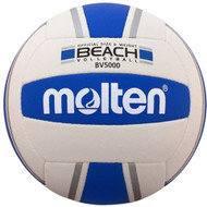 Molten BV-5000 International Beach Volleyball (Silver/Blue)