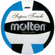 Molten IV58L Super Touch Volleyball (Black/Blue/White)
