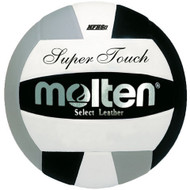 Molten IV58L Super Touch Volleyball (Black/Silver/White)