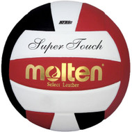 Molten IV58L Super Touch Volleyball (Red/White/Black)