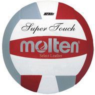 Molten IV58L Super Touch Volleyball (Red/White/Silver)