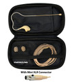Beige Headset Microphone for AKG Wireless Systems with mini XLR