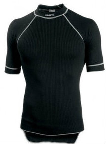 CRAFT PRO ZERO CREWNECK SHORT SLEEVE MENS BLACK