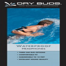 Drybuds Waterproof Stereo Headphones