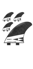 SIC MAUI THREE FOUR XL QUAD TRI FIN SET