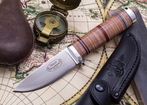 Fallkniven: NL5 - Northern Lights Idun 5 - Stacked Leather