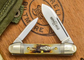 Great Eastern Cutlery: #16 - Northfield Un-X-LD - Burnt Stag - 10