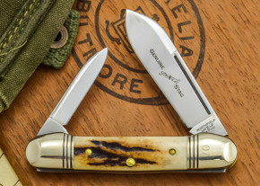 Great Eastern Cutlery: #16 - Northfield Un-X-LD - Genuine Stag - 07