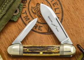 Great Eastern Cutlery: #16 - Northfield Un-X-LD - Genuine Stag - 10