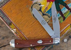 Great Eastern Cutlery: #48 EC - Dogleg Jack - Smooth Cherry Wood - Serialized