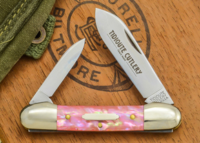 Great Eastern Cutlery: #16 - Tidioute - Pink Awabi
