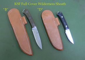 *KSF Leather: Full Cover Wilderness Sheath