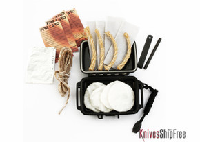 KSF Deluxe Fire Kit--Black **EXTRA FUEL**