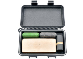 Complete Sharpening Kit for Field or Home w/ S3 Dry Box - Black
