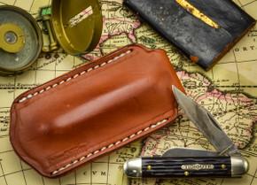 *KSF Leather: Main Street Universal PocketSlip Pocket Knife Pouch