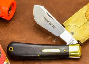 Great Eastern Cutlery: #74 Tidioute - Cotton Sampler - Ebony Wood - Serialized