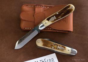 Northwoods Knives: Burnside Jack - Pioneer Bone