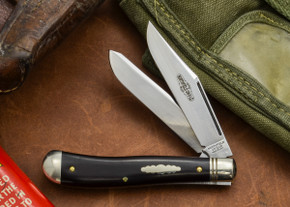 Great Eastern Cutlery: #48 Northfield Un-X-LD - Trapper - African Blackwood - Unserialized