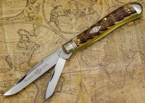 Great Eastern Cutlery: #48 Northfield Un-X-LD - Diamond Jack - Old Tan Jig Bone