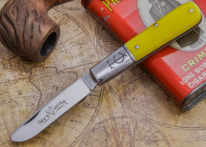 Great Eastern Cutlery: Tidioute - #15 Sawyer Day's Work - Smooth Yellow Bone - Spey Blade