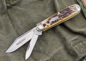 Great Eastern Cutlery: #78 Northfield UN-X-LD - American Jack - Burnt Stag - Unserialized - G