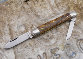 Great Eastern Cutlery: #09 - Tidioute - Esquire - Exotic Mexican Bocote Wood - Unserialized