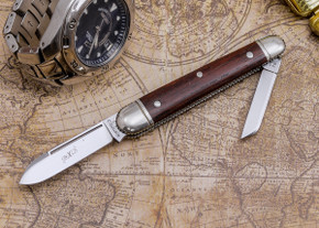 Great Eastern Cutlery: #09 - Northfield Un-X-LD - Esquire - Cocobolo Wood - Unserialized