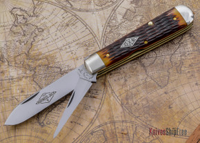 Great Eastern Cutlery: Northfield Un-X-LD - #15 Diamond Harness Jack - Chestnut Jig Bone