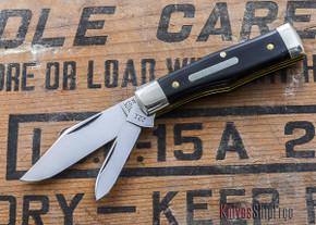 Great Eastern Cutlery: #22 - Tidoute - Magnum - Black Buffalo Horn