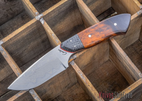 Carter Cutlery: Damascus Kajiki - Hand Forged Custom - #02