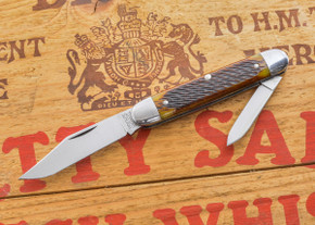 Great Eastern Cutlery: Tidioute - #68 - Antique Yellow Jig Bone