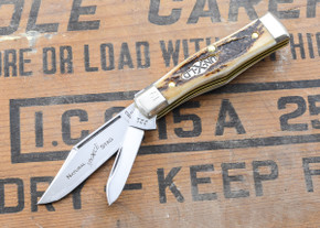 Great Eastern Cutlery: Northfield Un-X-LD - #22 Magnum - Natural Stag - Serialized - 19