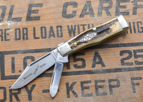 Great Eastern Cutlery: Northfield Un-X-LD - #22 Magnum - Natural Stag - Serialized - 21