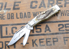 Great Eastern Cutlery: Northfield Un-X-LD - #22 Magnum - Natural Stag - Serialized - 27