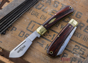 Great Eastern Cutlery: #74 - Northfield Un-X-LD - Cotton Sampler - Cocobolo - Serialized