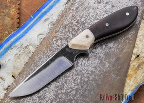 Carter Cutlery: Original Neck Knife - Ironwood / Corian