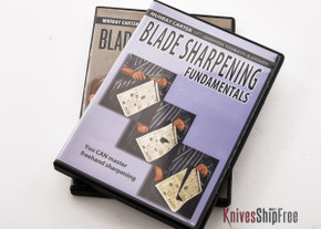 Carter Cutlery: Instructional Video Set - Two DVDs