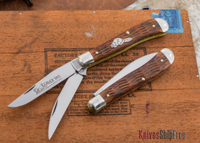 Great Eastern Cutlery: #48 - Tidioute - Trapper - Jigged Brazilian Cherry