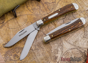 Great Eastern Cutlery: #48 - Tidioute - Trapper - Exotic Mexican Bocote