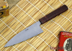 Carter Cutlery: Custom 4.9 High Grade Funayuki - Premium Handle